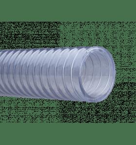 Verdeelslang PVC 50 x 61mm met stalen spiraal (30 meter)