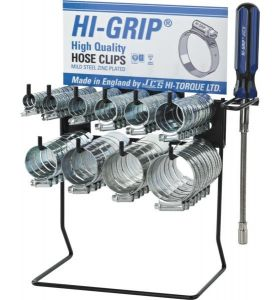 Hi-grip clip dispenser